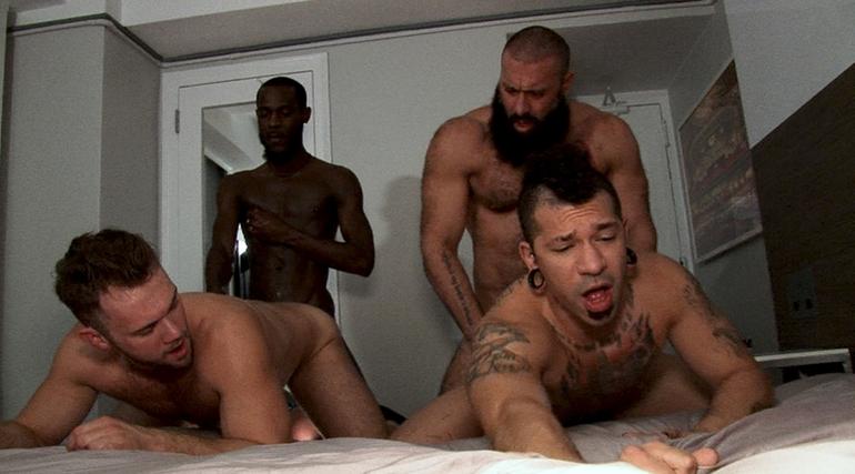 Blaze Austin, Roman Maverick, Alex Tikas & Jamaican Boi