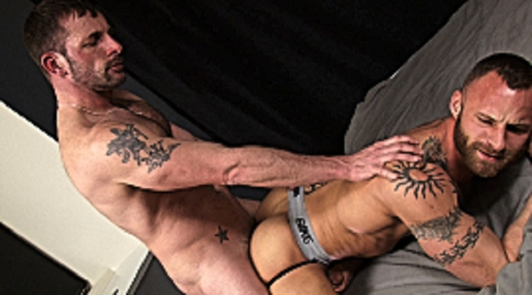 black morgan Derek porn gay parker and
