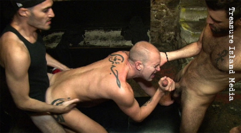 DYLAN COX AND DARKO FUCK THE BARTENDER in ERIC'S RAW FUCK TAPES VOLUME 5
